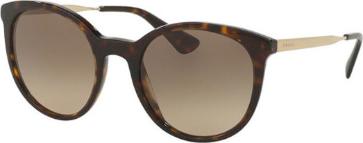 แว่นกันแดด PRADA CINEMA PR17SSF 2AU3D0 Havana/Gold Brown Gradient