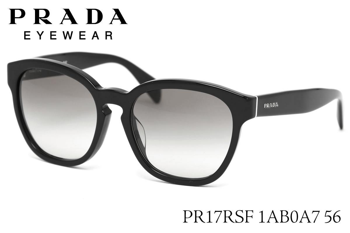 แว่นกันแดด PRADA PR17RSF 1AB0A7 Black/Grey Gradient