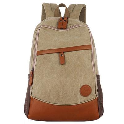 กระเป๋าเป้สะพายหลังสารพัดประโยชน์ สวย ทน เท่ห์ คุณภาพชั้นนำเป็นที่ยอมรับระดับสากล Japanese and Korean version of the retro leisure shoulder bag travel bag