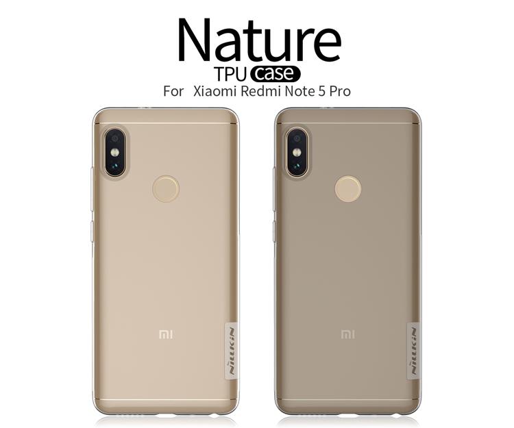 Xiaomi Redmi Note 5 / Redmi Note 5 Pro Nillkin TPU Case (เคสนิ่ม)
