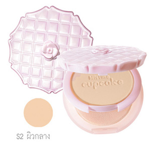 Mistine cupcake Super white and lightening powder SPF 25 PA+++ S2 ผิวกลาง