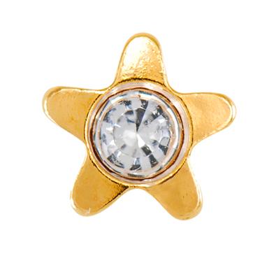 Starlite APR Crystal 4mm G/P (7511-5014)