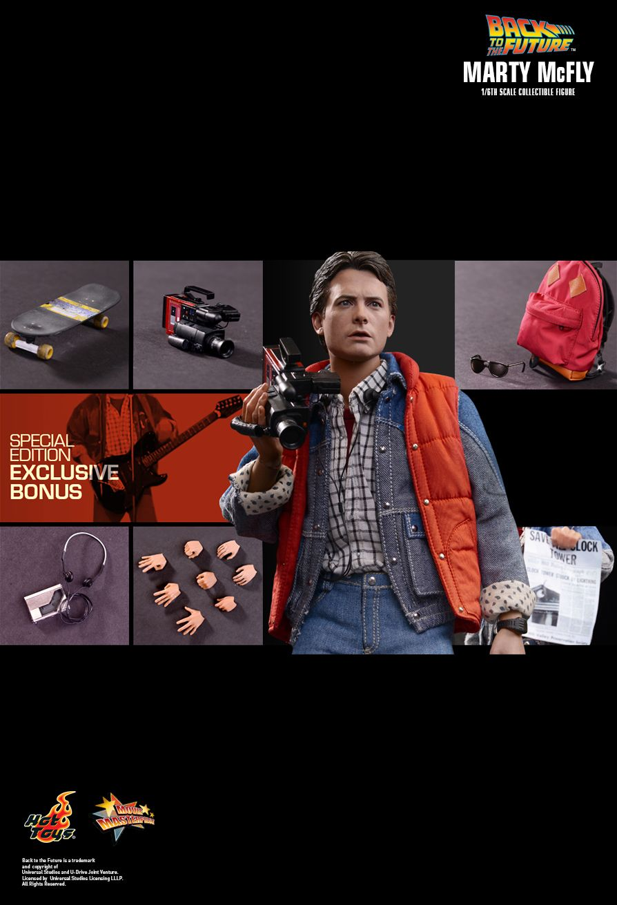 Hot Toys MMS257 Back to the Future: Marty McFly