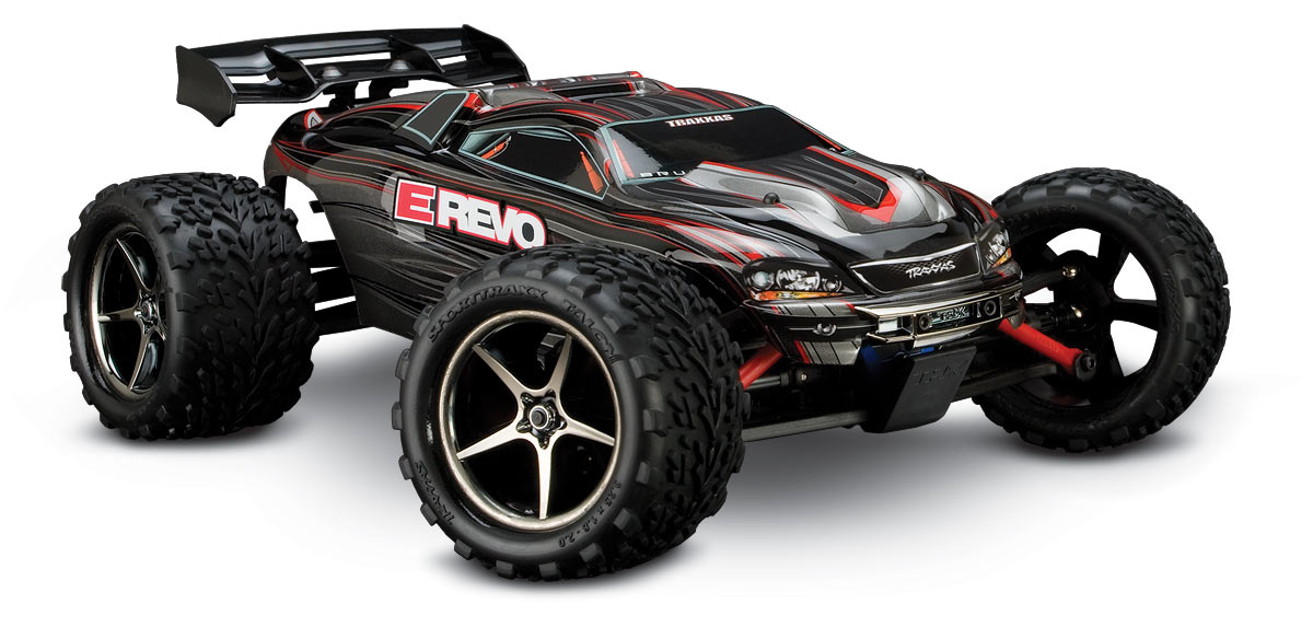 E-Revo VXL: 1/16-Scale 4WD Racing Monster Truck with TQ 2.4 GHz radio system#71074-1