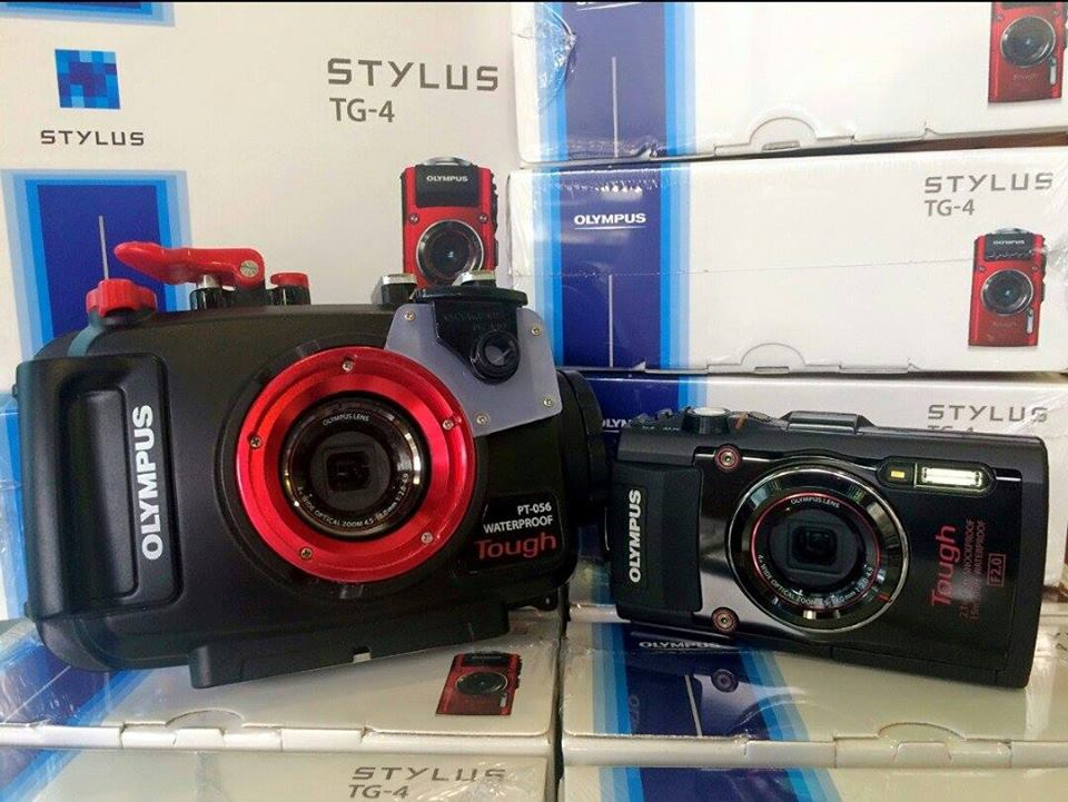 กล้อง Olympus TG-4 พร้อม Housing