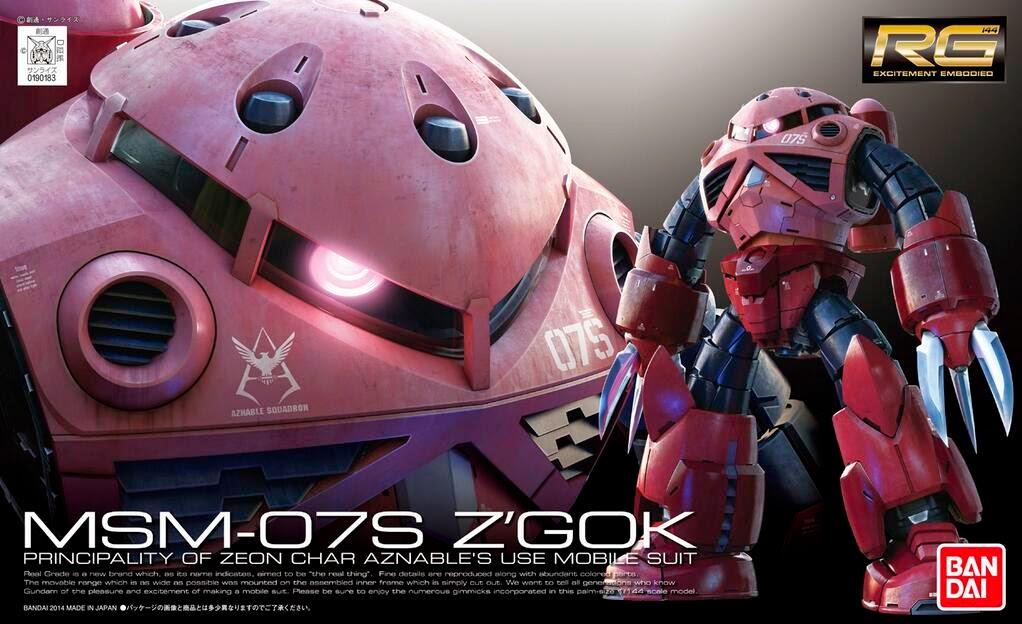 BANDAI RG 16 - MSM-07S Z'GOK