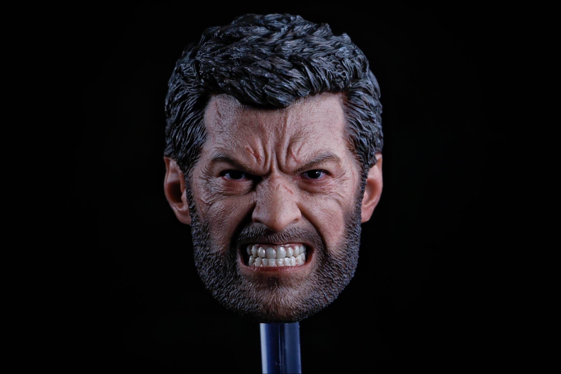 Eleven E-019 Logan headscuplt (Angry version)