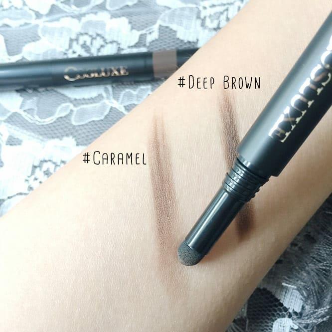 ดินสอเขียนคิ้วเนื้อฝุ่นอัดแท่ง Cosluxe 123 BROW Pencil