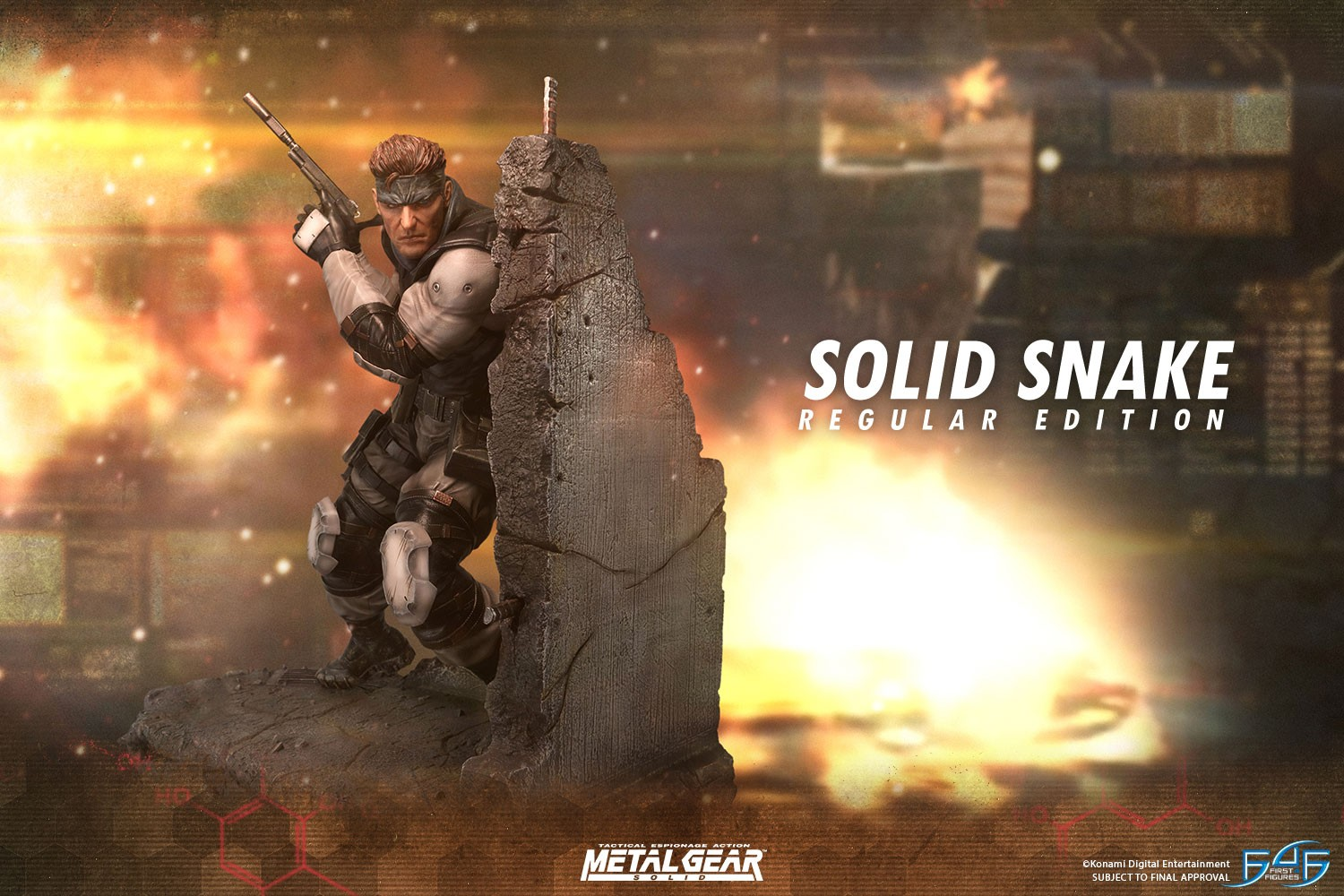 FIRST4FIGURES 1/4 SCALE SOLID SNAKE STATUE