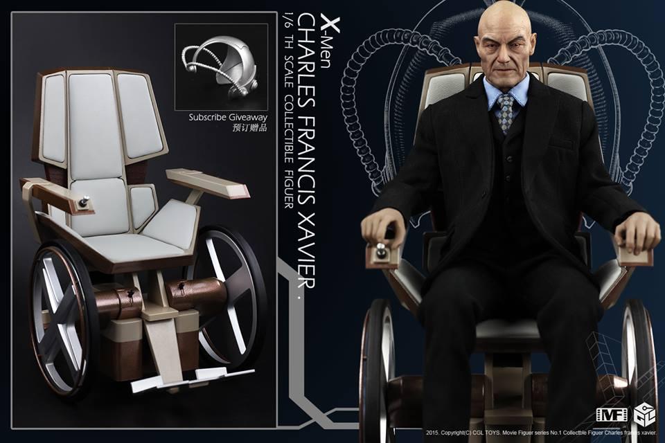 CG LTOYS MF01 X-MEN PROFESSOR CHARLES FRANCIS XAVIER + wheel chair hot
