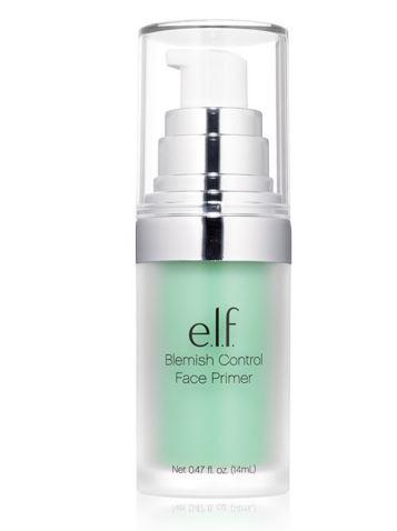 **พร้อมส่ง**e.l.f. Blemish Control Face Primer 14 ml. ไพรมเมอร์เขียวที่ช่วยอำพรางรอยแดงบนใบหน้า ช่วยปกปิดรูขุมขน และริ้วรอยบนใบหน้า โดยไม่ทำให้หน้ามัน พร้อมด้วยคุณค่าจากสารแอนตี้ออกซิแดนซ์ วิตามินเอ และ อี สารสกัดจากตะไคร้ ว่านหางจระเข้ และกล้วยไม้ที่ช่วย