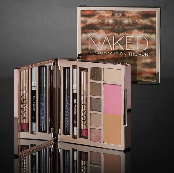 **พร้อมส่ง**URBAN DECAY Naked On The Run Limited Edition พาเลทสุดหรูใหม่ล่าสุด Eyeshadow, Blus, Bronzer, Mascara, Eyeliner และ Lipgloss , พาเลทใหม่ล่าสุดจาก URBAN DECAY มาแล้วค่ะ