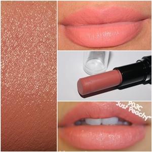 **พร้อมส่ง** Wet n Wild Mega Last Lip Color # 903C Just Peachy ลิปสติกเนื้อแมทสีชมพูอมส้ม เป็นลิปสติกจาก Drugstore ของอเมริกา กลบสีปากมิด ติดทนนานไม่เป็นคราบ พิกเม้นต์เกินราคา