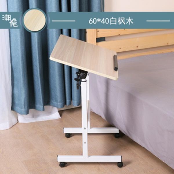 Pre-order โต๊ะทำงานปรับระดับ โต๊ะวางคอมพิวเตอร์ โต๊ะวางแล็ปท้อป แบบปรับได้ทั้งความสูงและองศามุมมอง สีเมเปิ้ล
