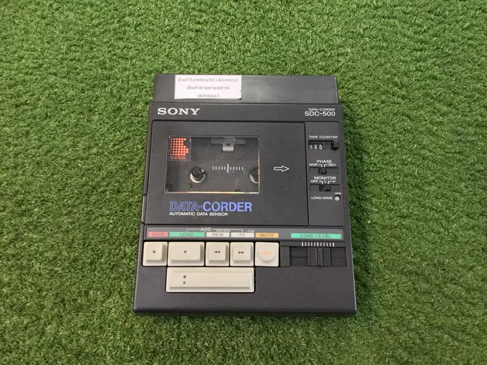 วิทยุ FM AM SONY SDC-500 สินค้าไม่พร้อมใช้งาน (ต้องซ่อม)