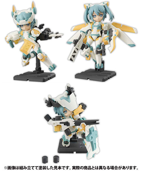 Desktop Army - B-101s Sylphy Series Alpha Platoon Updated Edition 3Pack BOX(Pre-order)