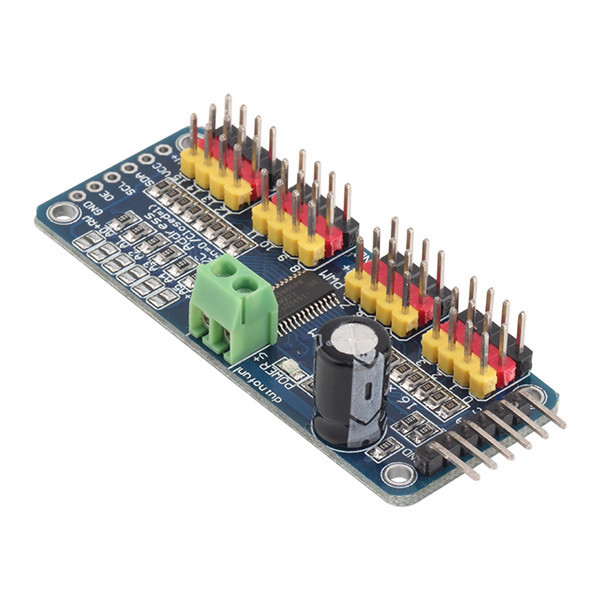 16-Channel 12-bit PWM Servo shield I2C interface PCA9685