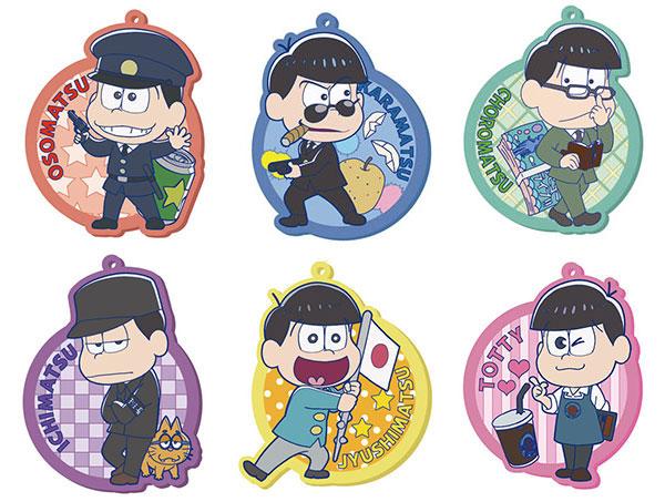 Osomatsu-san - Rubber Coaster -Hataraku Mutsugo- 7Pack BOX(Pre-order)