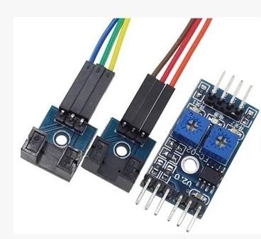 เซ็นเซอร์วัดความเร็วรอบ 2-way Motor Speed Sensor Module
