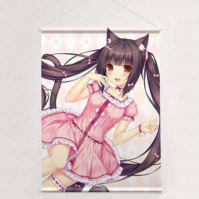 Sayori - New Illustration B2 Wall Scroll: Chocola / Pajama(Pre-order)