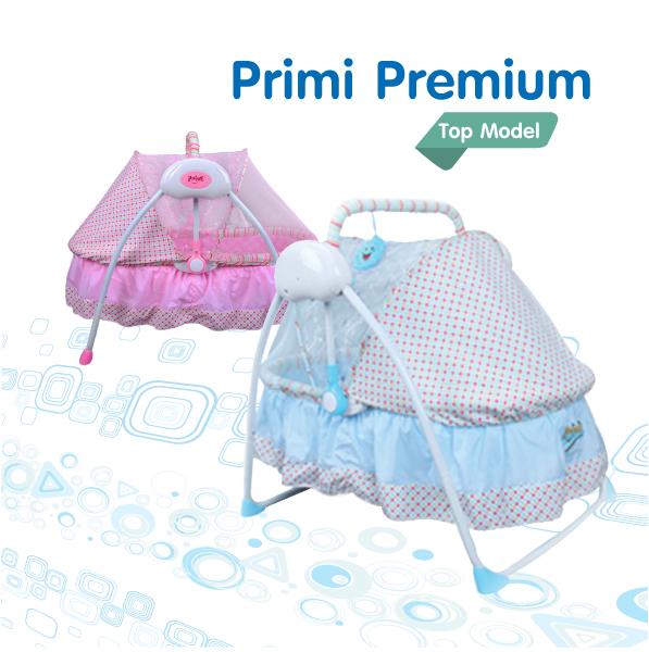 เปลไกวไฟฟ้า Primi รุ่น premium 2015