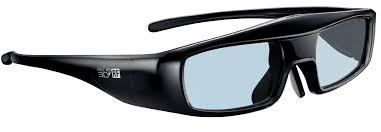 แว่นตา 3D glasses ยี่ห้อ พานาโซนิค