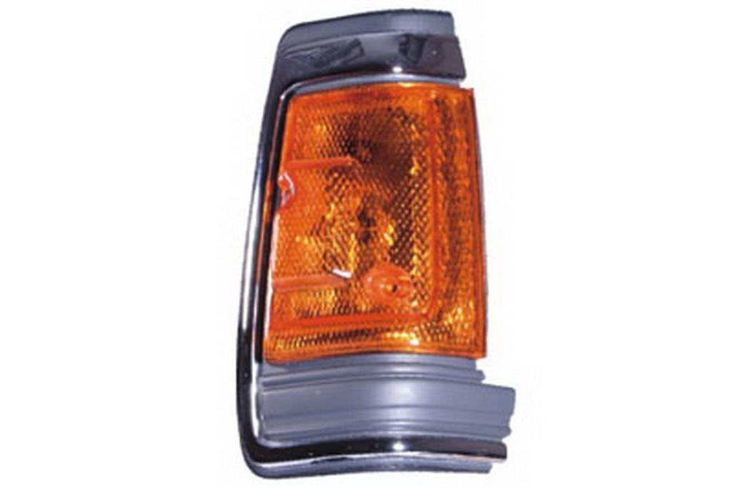 03-318 R/L Chrome Side Direction Indicator Lamp, Chrome Housing