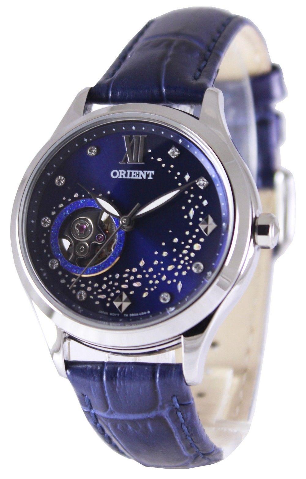 นาฬิกาผู้หญิง Orient รุ่น FDB0A009D, Happy Stream Collection Open Heart