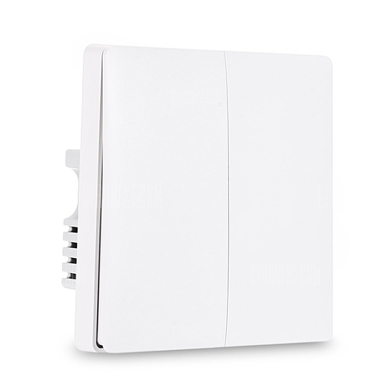 Xiaomi Aqara Wall Switch ZigBee Version (Two Buttons) - สวิทซ์ไฟบ้าน ZigBee (2 ปุ่ม)
