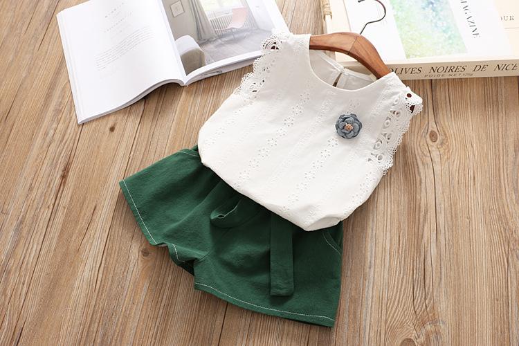BE195 - เสื้อ+กางเกง 5 ตัว/แพค ไซส์ 5 7 9 11 13
