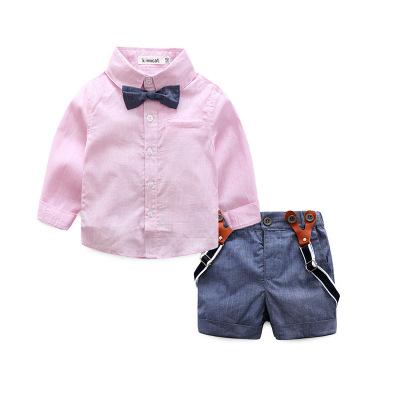 ID324- เสื้อ+กางเกง 4 ชุด /แพค ไซส์ 70 80 90 95