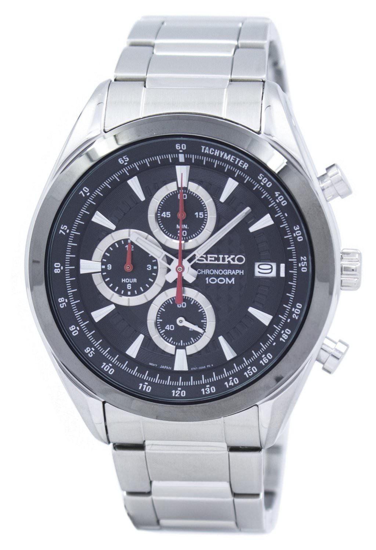 นาฬิกาผู้ชาย Seiko รุ่น SSB201P1, Chronograph Tachymeter
