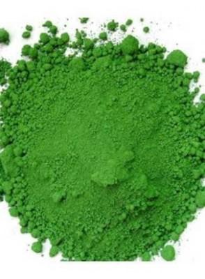 สีเขียว chromium oxide green