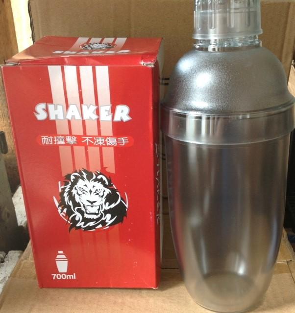 แก้วเช็คพลาสติกสิงโต 700 ml