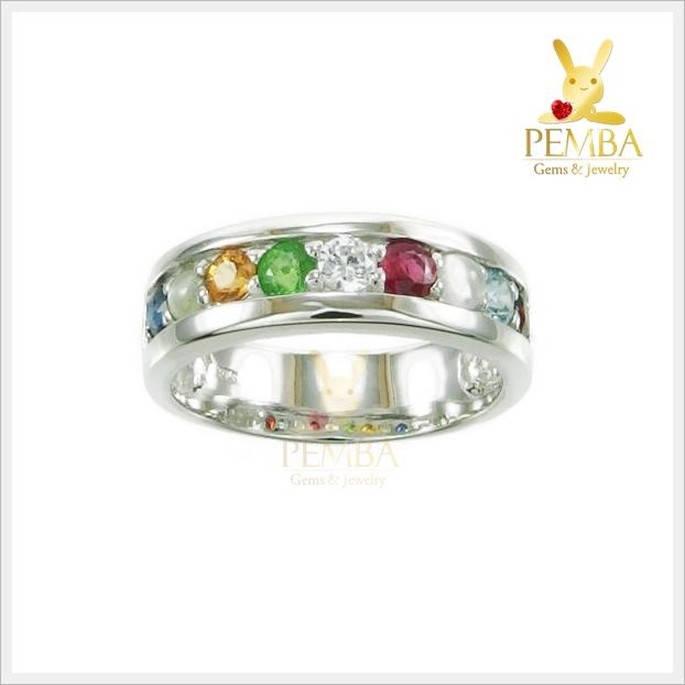 แหวนนพเก้า แหวนพลอยนพเก้า แหวนพลอยสวยๆ
