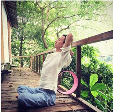 Yoga Wheel วงล้อ สำหรับ โยคะ YK9020P (33*13cm)