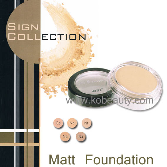 MTI Matt Foundation / ครีมรองพื้นเนื้อแมทท์ เอ็มทีไอ