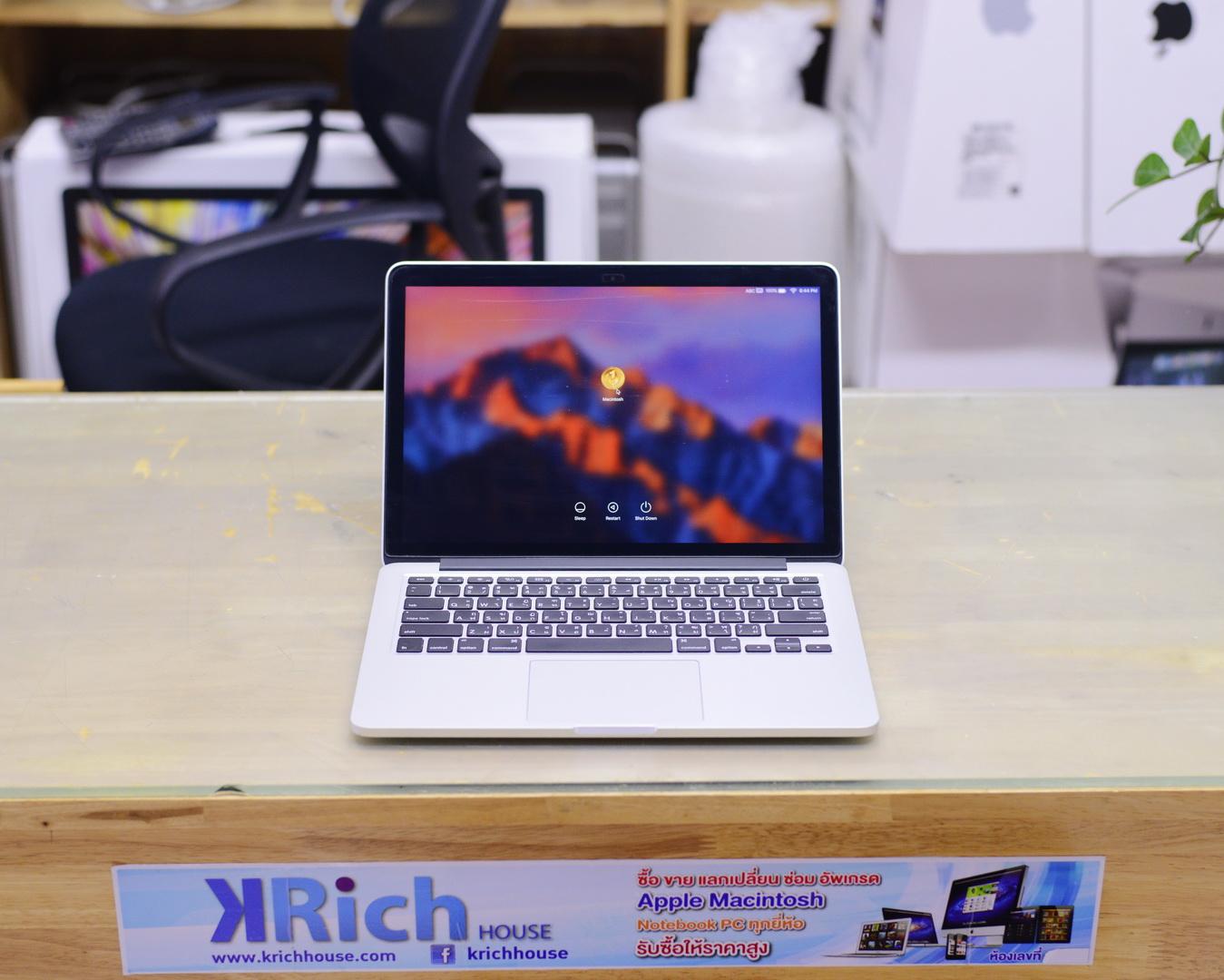 MacBook Pro (13-inch, Early 2015) - Core i5 2.7GHz RAM 8GB SSD 128GB