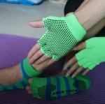 ถุงมือ ถุงเท้าโยคะ กันลื่น YKSM30-6