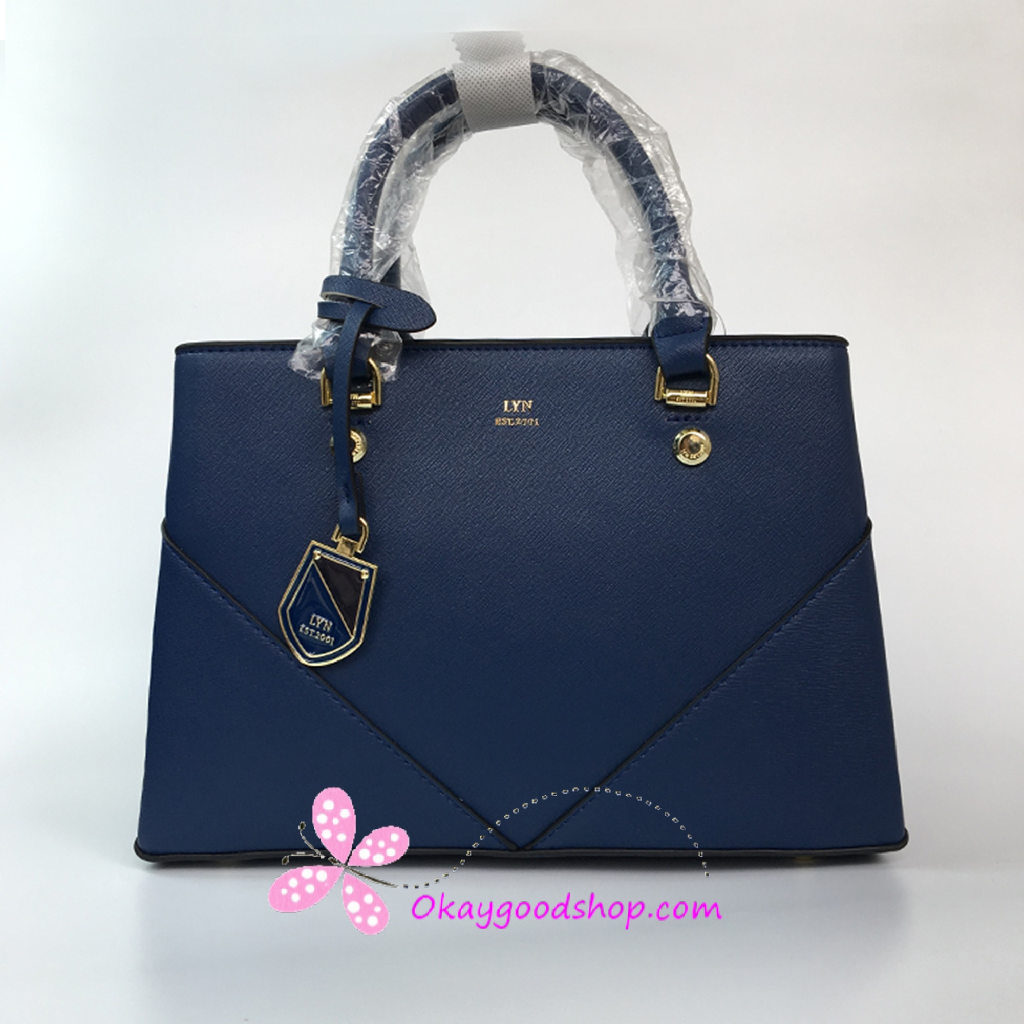 a61397a5be0e LYN Amour M Bag - สีน้ำเงิน
