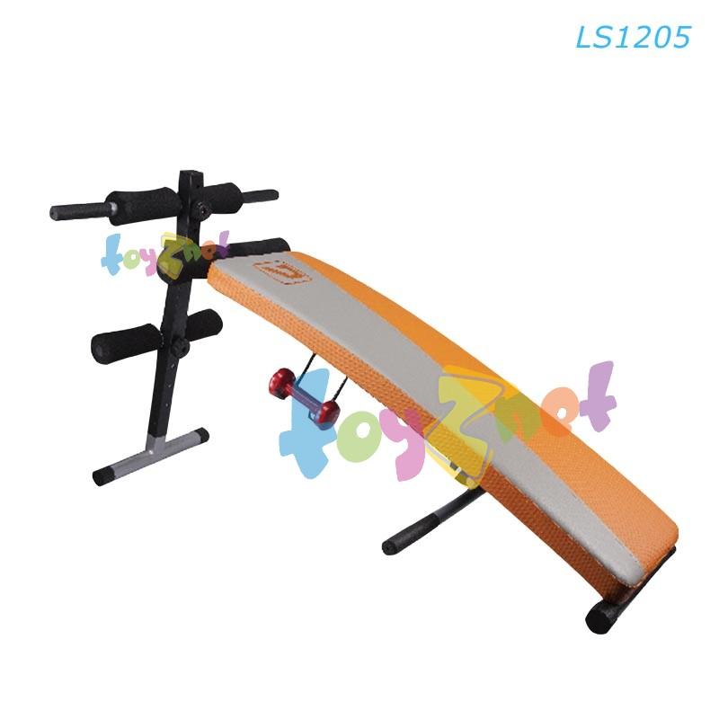 Liveup ม้านั่งซิท-อั้พ ออกกำลังกายกล้ามท้อง มีที่วางดัมเบลล์ด้านข้าง รุ่น LS1205