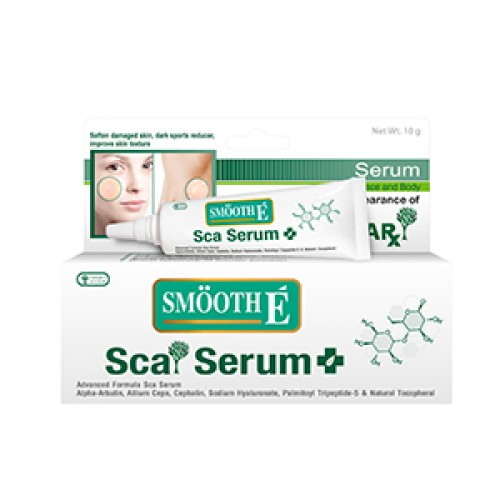 Smooth E Smooth Scar Serum 10g. เซรั่มลดรอยแผลเป็น ขนาด 10 กรัม