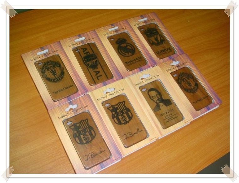 Case I-Phone ทำจากไม้