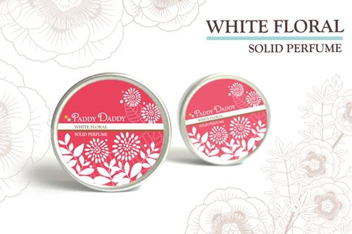 Aromatic Solid Perfume White Floral น้ำหอมแห้งเนื้อบาล์ม แพดดี้แดดดี้ กลิ่นไวท์ ฟลอรัล (กลิ่นคล้ายน้ำหอม Gucci rush)