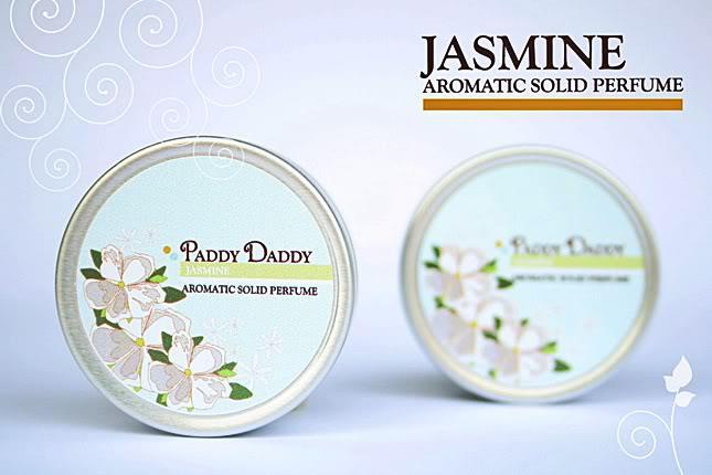 Aromatic Solid Perfume Jasmine น้ำหอมแห้ง แพดดี้แดดดี้ กลิ่นจัสมิน (กลิ่นหอมสูตรพิเศษของ Paddy Daddy)