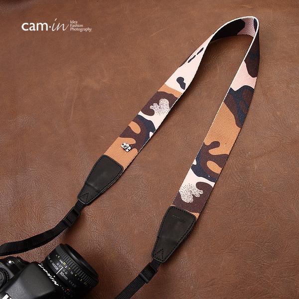 สายคล้องกล้อง cam-in ลายทหารหาญ Brave Soldier