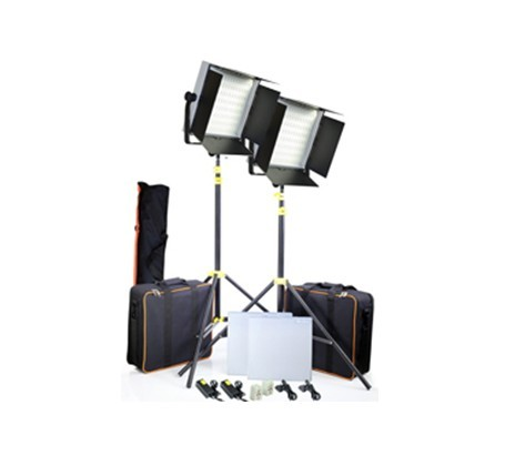 CAMTREE 2pcs. 1000 White LED Lights Kit (C-1000-W-2)