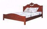 เตียงไม้ยาง SMART 6 ฟุต หัวไม้