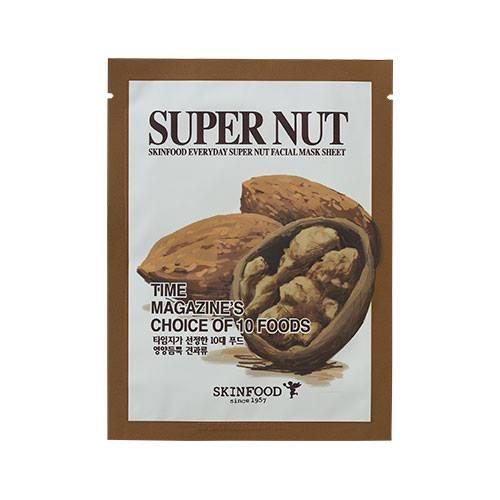 Skinfood Everyday Mask Sheet #SUPER NUT : สารสกัดจากถั่ว