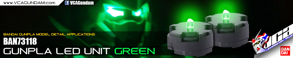 GUNPLA LED UNIT GREEN สีเขียว